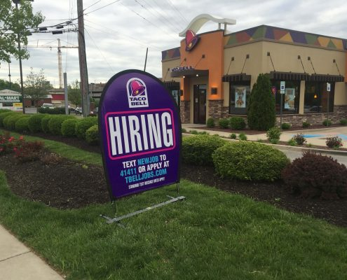 Taco Bell Outdoor Banner