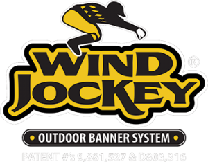 Wind Jockey Outdoor Banner System